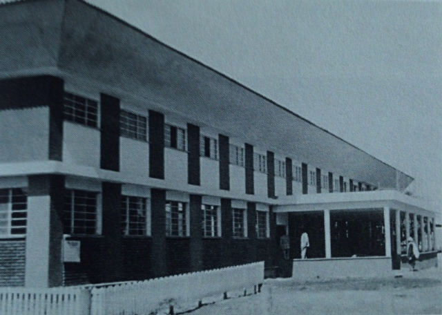 The newly completed SIM Soddo Hospital in 1975.